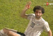 إصابة محمود علاء في مباراة نيجيريا