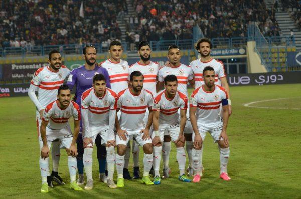 موعد مباراة الزمالك ونصر حسين داي