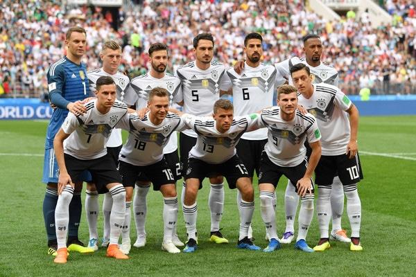 قائمة ألمانيا
