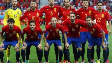 قائمة المنتخب الإسباني