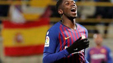 Photo of ديمبيلي يفسد فرحة برشلونة بالتأهل