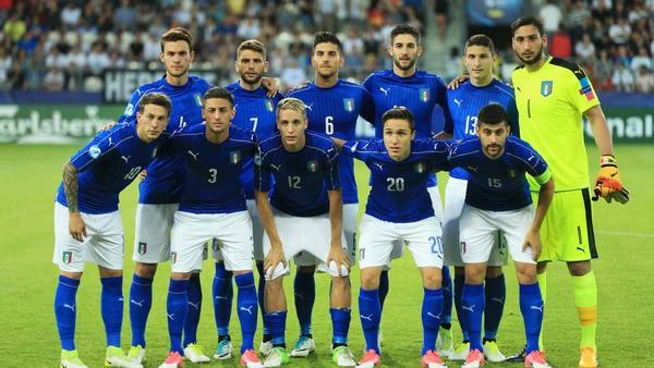 تشكيل إيطاليا ضد فنلندا