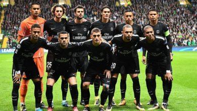 تشكيل باريس سان جيرمان ضد مانشستر يونايتد بدوري الأبطال