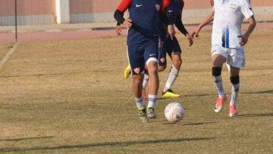 لاعب فريق ديروط يتعرض للإصابة في مباراة التعدين