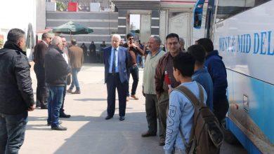 Photo of مرتضي منصور يتابع عملية نقل أعضاء الزمالك لبرج العرب