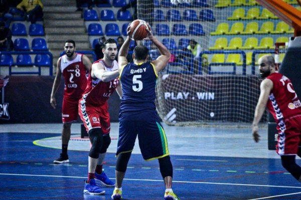 الجزيرة بطل كأس مصر لكرة السلة