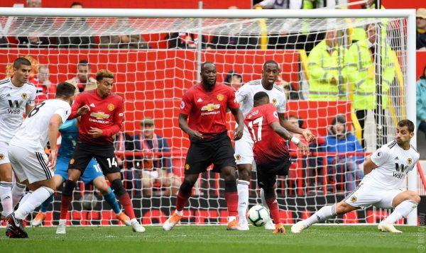 ملخص وأهداف مباراة مانشستر يونايتد ضد ولفرهامبتون