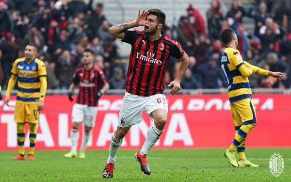 مشاهدة مباراة بارما ضد ميلان بث مباشر 20-4-2019