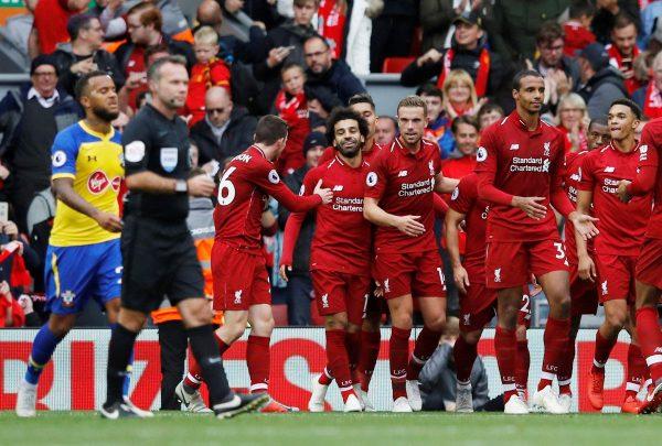 مجموعة ليفربول في دوري أبطال أوروبا 2020