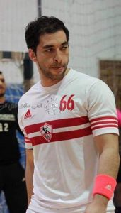 أحمد الأحمر كابتن فريق الزمالك