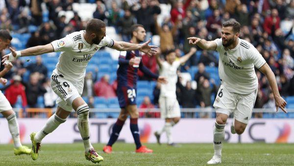 ملخص وأهداف مباراة ريال مدريد ضد إيبار