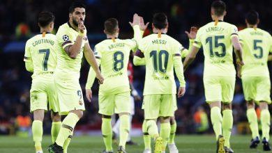 ملخص وأهداف مباراة مانشستر يونايتد ضد برشلونة