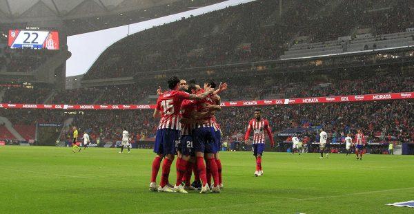 ملخص مباراة أتلتيكو مدريد وفالنسيا فى الدورى الإسبانى