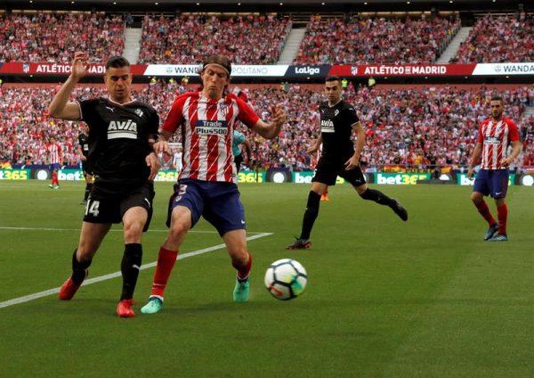 ملخص وأهداف مباراة إيبار وأتلتيكو مدريد