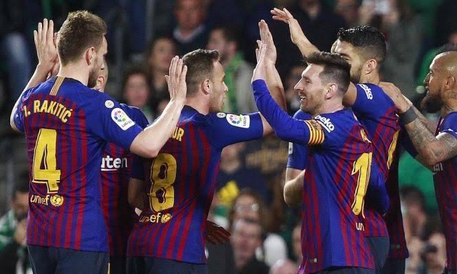 ملخص وأهداف مباراة برشلونة ضد فياريال