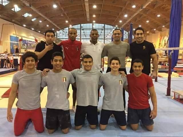 منتخب مصر للجمباز الفنى