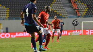 صورة ملخص وأهداف مباراة الأهلي ضد بيراميدز بالدوري المصري