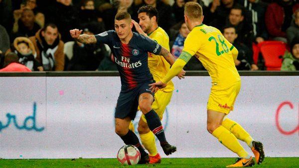 ملخص وأهداف مباراة باريس سان جيرمان ضد نانت