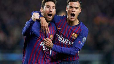 ملخص وأهداف مباراة برشلونة ومانشستر يونايتد بدوري الأبطال