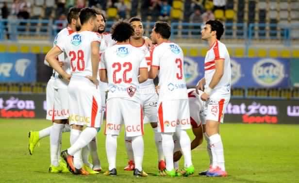 موعد مباراة الزمالك ضد سموحة في الدوري المصري