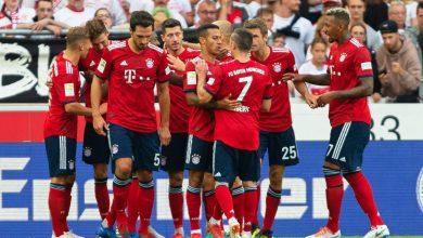 ترتيب الدوري الألماني بعد نهاية الجولة 33