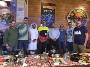 تكريم الأتحاد القطري لجهاز الخور و زاهر عبد الباسط