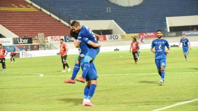 نتيجة وأهداف مباراة الأهلي ضد طلائع الجيش بالدوري المصري