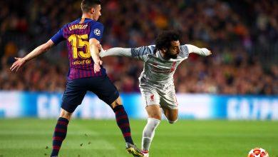 Photo of ملخص لمسات محمد صلاح أمام برشلونة بدوري أبطال أوروبا