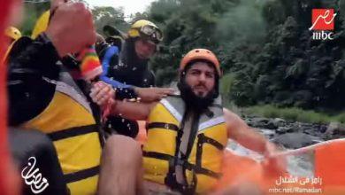 """Photo of حلقة فرجاني ساسي مع رامز في الشلال """" فيديو"""""""