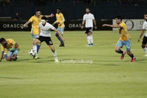 ملخص ونتيجة مباراة الإسماعيلي ضد الجونة في الدوري المصري