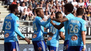 صورة نتيجة واهداف مباراة مارسيليا ضد ليون في الدوري الفرنسي