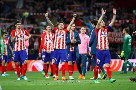 أتليتكو مدريد ضد اشبيلية