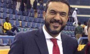 محمد عبد المطلب نائب رئيس الأتحاد المصري لكرة السلة
