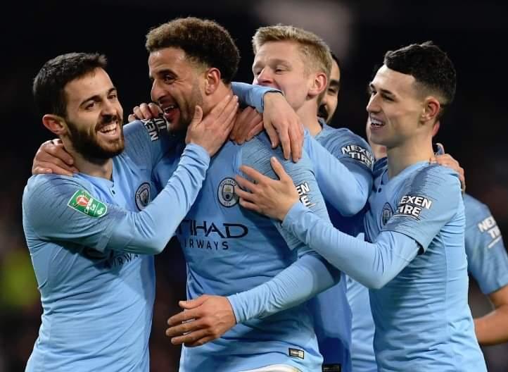مشاهدة مباراة برايتون ضد مانشستر سيتي بث مباشر 12-5-2019