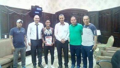 الإعلاميين يتعاقد مع بدر ابراهيم لاعب الفيوم