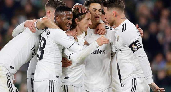 مشاهدة مباراة ريال مدريد وريال بيتيس بث مباشر 2-11-2019