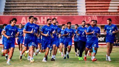 Photo of تدريبات الأهلي.. مران بدني للاعبين وتدريب منفرد لعلي لطفي