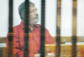 صورة النيابة العامة توضح سبب وفاة محمد مرسي