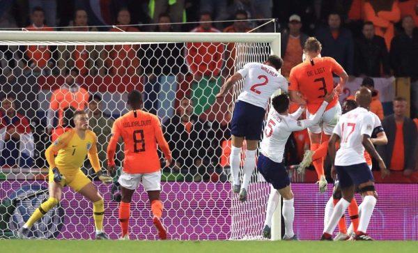 ملخص ونتيجة مباراة هولندا وإنجلترا بدوري الأمم الأوروبية