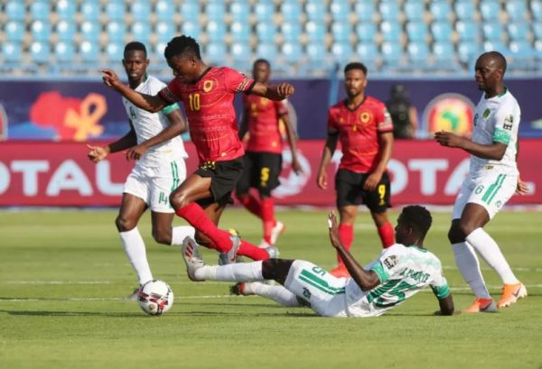 ملخص ونتيجة مباراة موريتانيا ضد أنجولا بأمم أفريقيا 2019