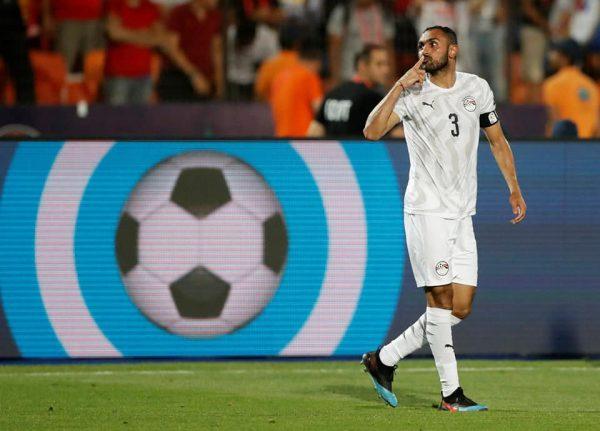 نتيجة وأهداف مباراة مصر ضد أوغندا بكأس الأمم الأفريقية