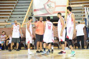 وائل بدر في تدريبات فريق الزمالك