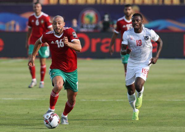 نتيجة مباراة المغرب وناميبيا بكأس الأمم الأفريقية 2019
