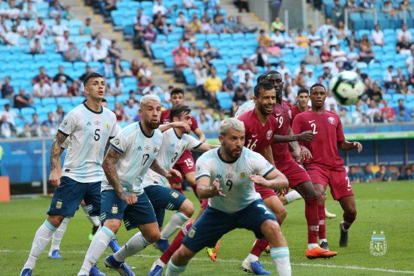 نتيجة وأهداف مباراة قطر والأرجنتين بكوبا أمريكا 2019
