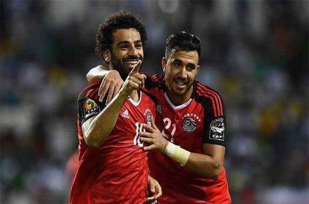 هدف محمد صلاح اليوم في مباراة مصر والكونغو الديمقراطية