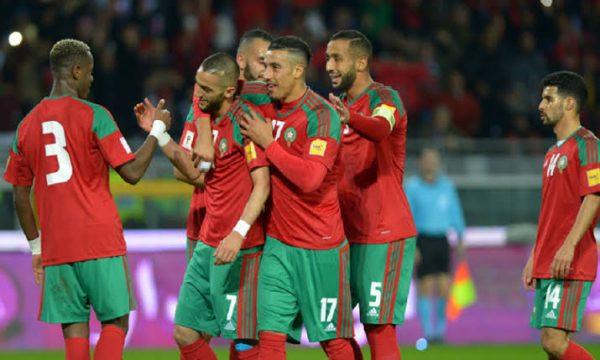 نتيجة وأهداف مباراة المغرب ضد زامبيا وديا