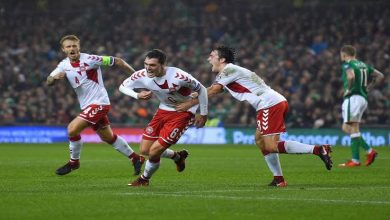 بث مباشر مباراة الدنمارك وأيرلندا اليوم 7-6-2019