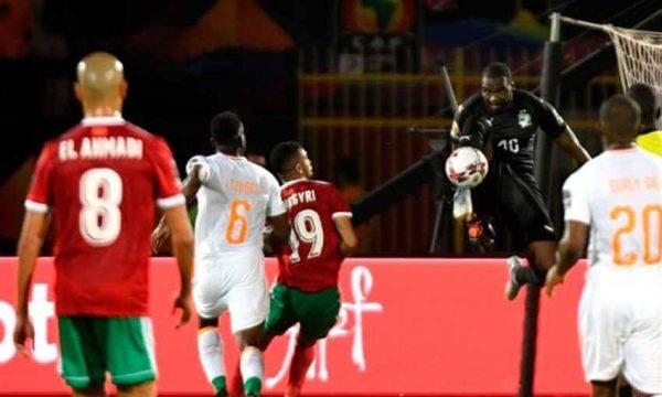 ملخص مباراة و أهداف المغرب وكوت ديفوار بكأس الأمم الأفريقية