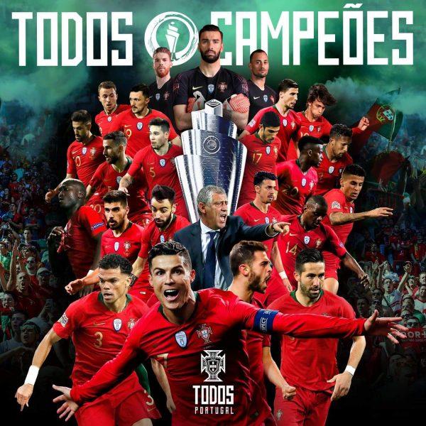 Uefa nations league.. البرتغال بطلا لدوري الأمم الأوروبية