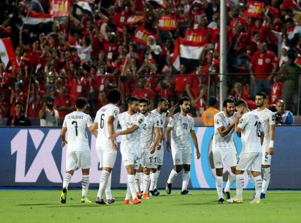 أهداف مباراة مصر وأوغندا في الشوط الأول